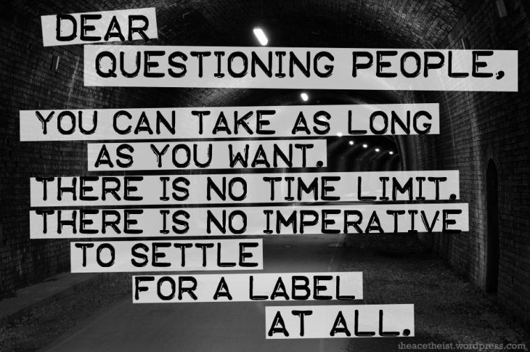 questioning copy